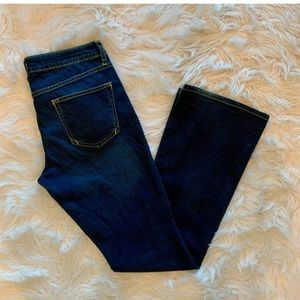 PILCRO Anthropology Low Rise Bootcut Jeans